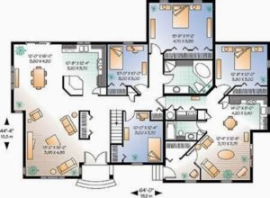 HN contracting Floor Plan Homes