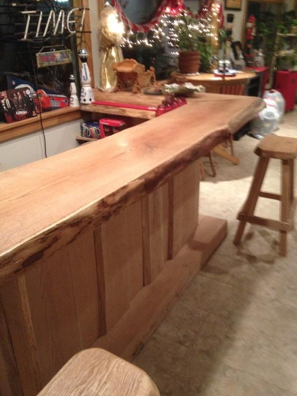 Custom Bar and Mantel 1